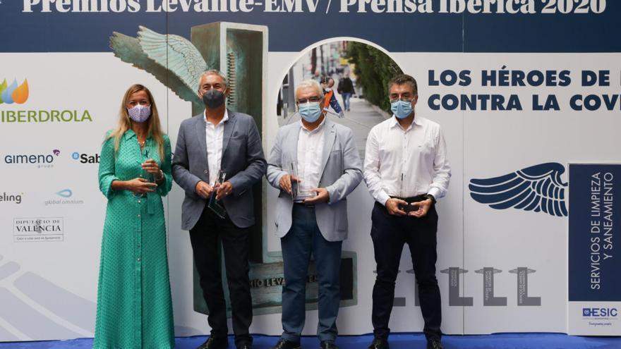 Levante-EMV y Prensa Ibérica premian a los servicios de limpieza por su labor titánica en la pandemia