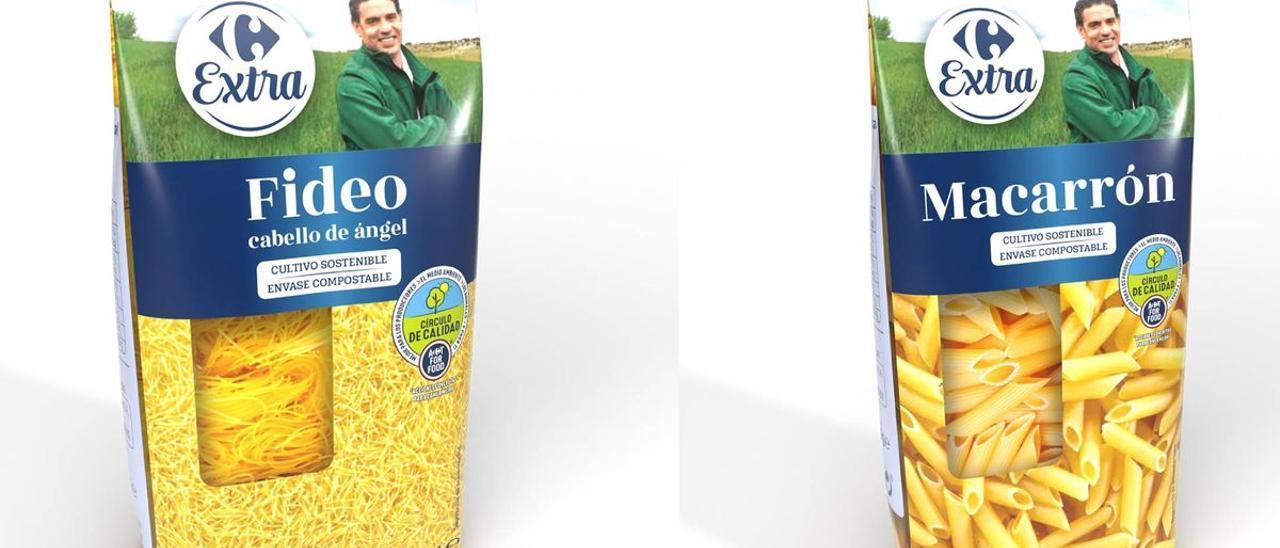 Envases 100% compostables de Cerealto Siro.