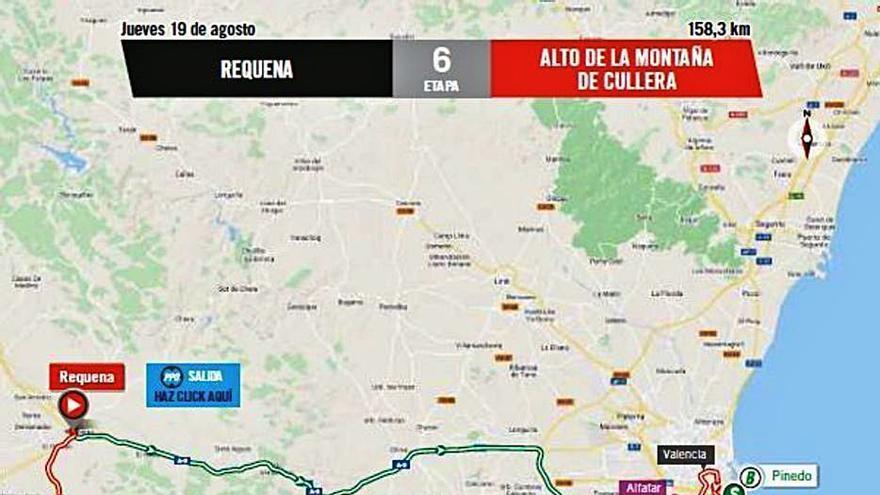 La Vuelta  llega hoy a la  C. Valenciana