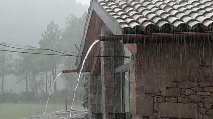 El temporal deixa 70 litres/m2 a Berga i 44 a Queralt