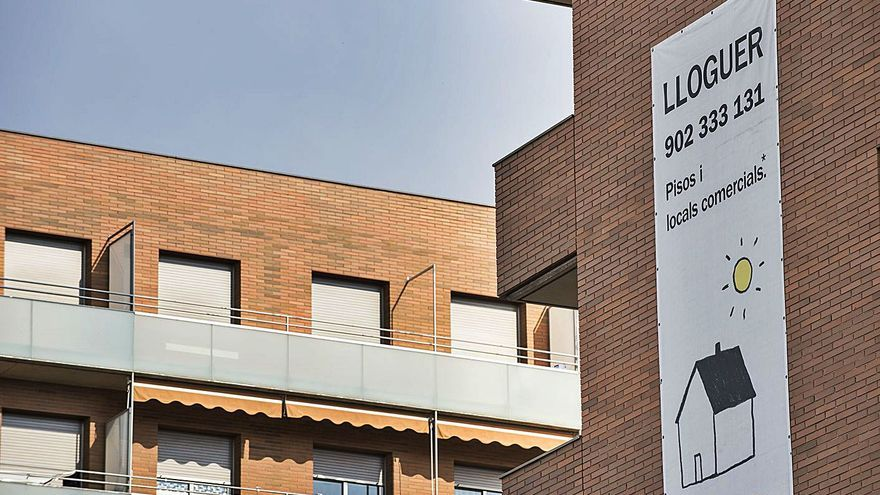 Els catalans destinen el 36% del sou a pagar el lloguer, 10 punts més que el 2015