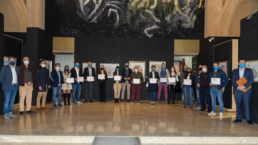 Caravaca premia la trayectoria de los estudiantes con mejores expedientes