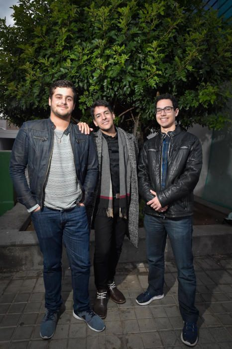 28-12-2018 LAS PALMAS DE GRAN CANARIA. Trio Contrastes. Fotógrafo: ANDRES CRUZ    28/12/2018   Fotógrafo: Andrés Cruz