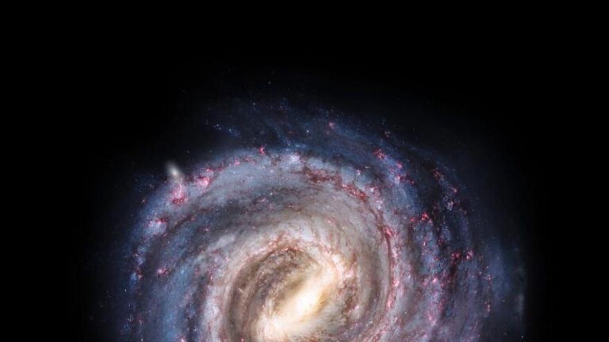 La materia oscura está atrapando a la Vía Láctea