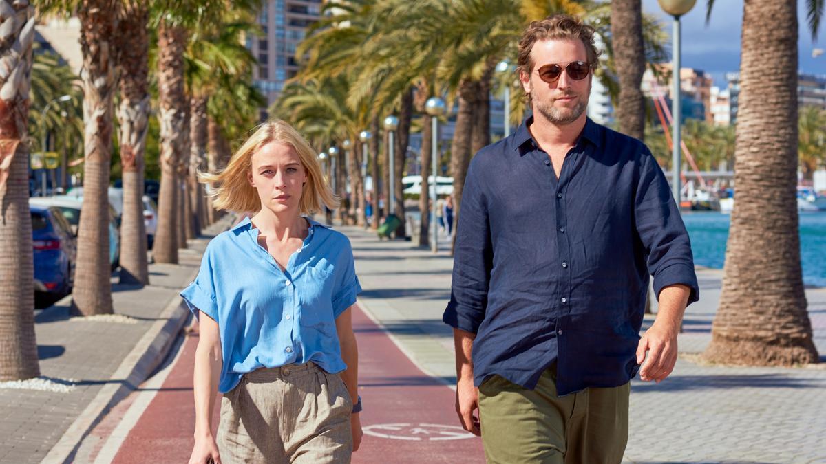"""Els dos protagonistes de """"The Mallorca Files""""."""