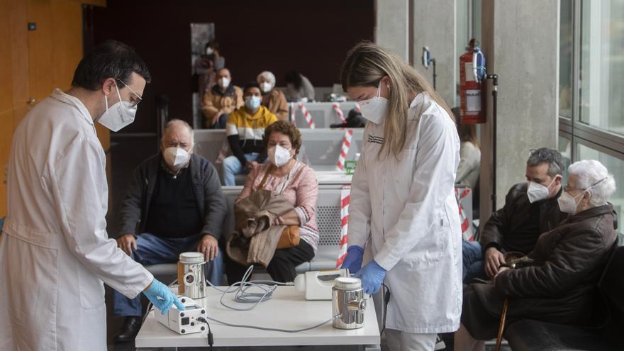 Detectores de covid en el aire de las  aulas universitarias y ambulatorios
