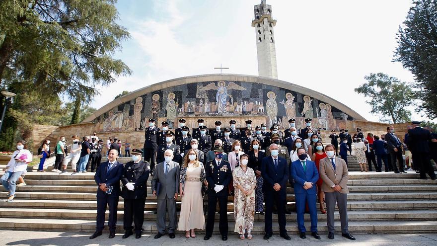 La Policía Nacional celebra el día de los Ángeles Custodios