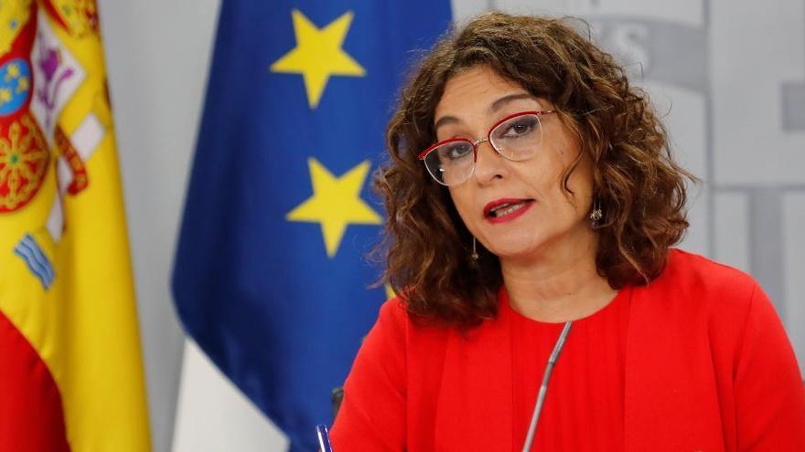 """Montero señala que """"lo peor"""" de la crisis ha pasado"""