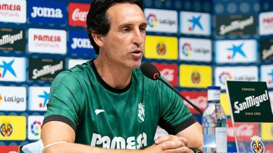 La Champions, el Atlético, los lesionados, el mercado... Emery desglosa los planes del Villarreal