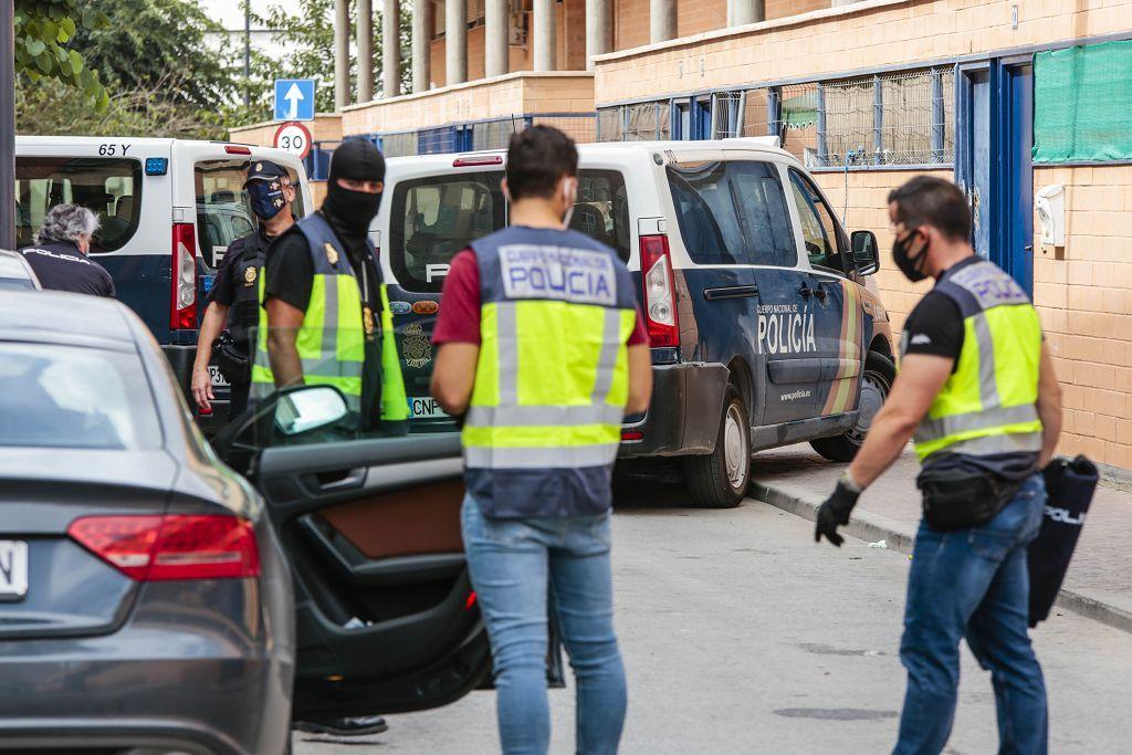 Intervención policial. Menudeo, gallos y tortugas en Ministriles, Lorca-3650.jpg