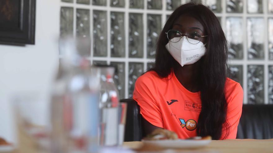 La atleta olímpica Fátima Diame habló de su sueño cumplido en SomEsport