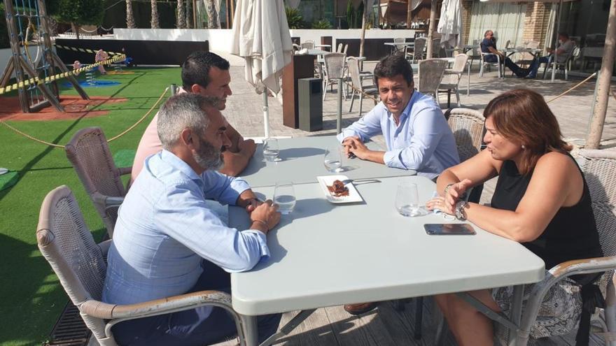 Bonig se reúne con los tres presidentes provinciales del PP para fijar estrategias frente al covid