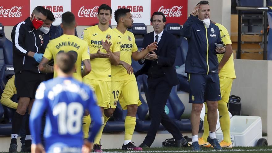 """Emery tras la victoria del Villarreal ante el Getafe: """"Era vital ganar y dar descansos"""""""