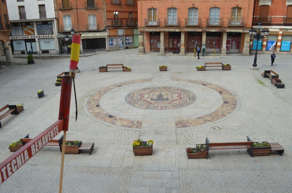 Petición del Toro Enmaromado desde Benavente.