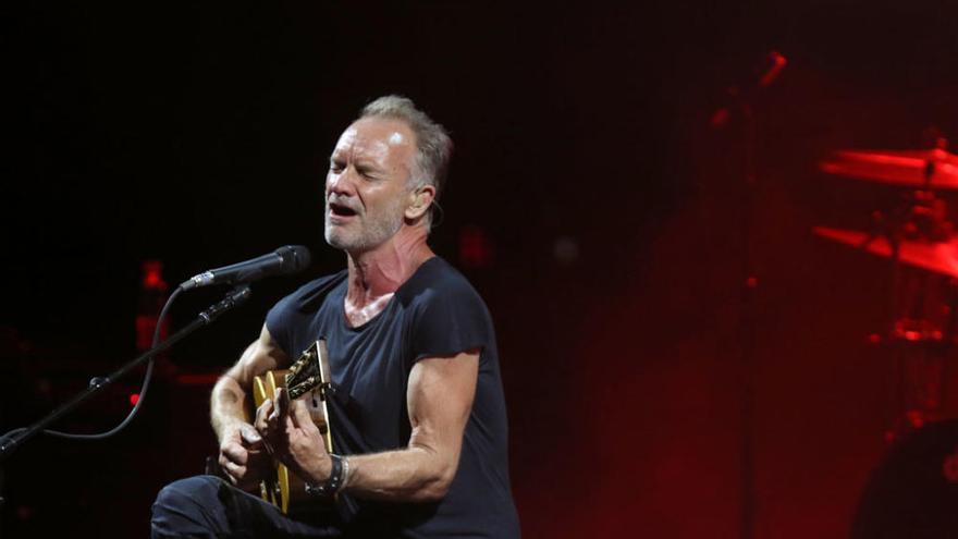 Las imágenes del concierto de Sting en Starlite Festival