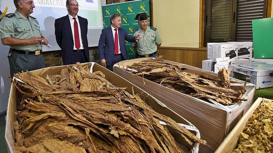 La UCO destapa una gigantesca fábrica ilegal de tabaco en l'Alcúdia de Crespins