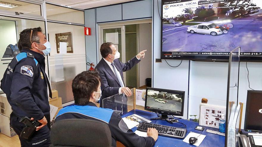 El Concello incorpora un simulador 3D de última generación para reconstruir siniestros de tráfico