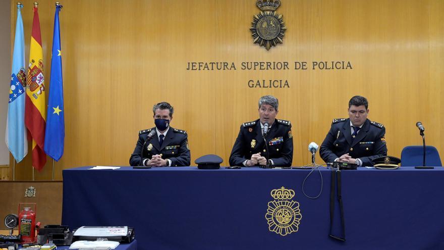 Treinta y tres detenidos y más de 5 kilos de heroína incautados en Galicia a una red que operaba en Asturias