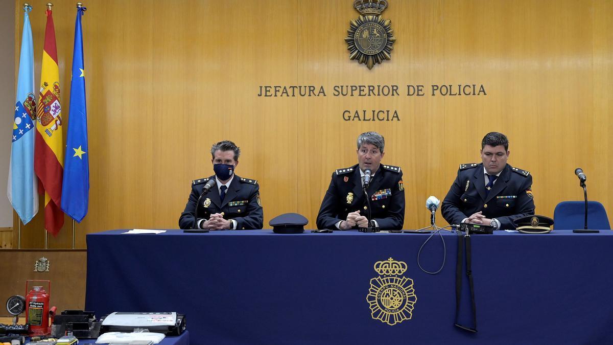 Treinta y tres detenidos y más de 5 kilos de heroína incautados en Galicia