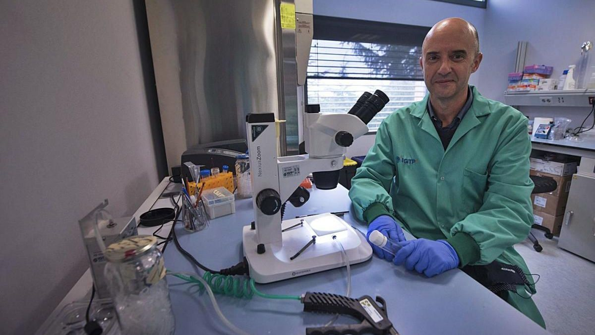 La vacuna de Pere-Joan Cardona obté 1,6 milions per assajar-la contra el virus