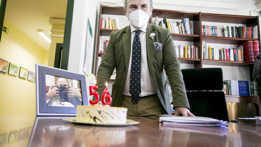"""Ignacio Villaverde cumple 56 años a las puertas de su toma de posesión como rector: """"Es una celebración especial e inolvidable"""""""