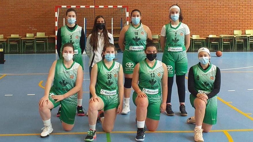 Ponce Valladolid amarga el debut de las cadetes del CD Zamarat