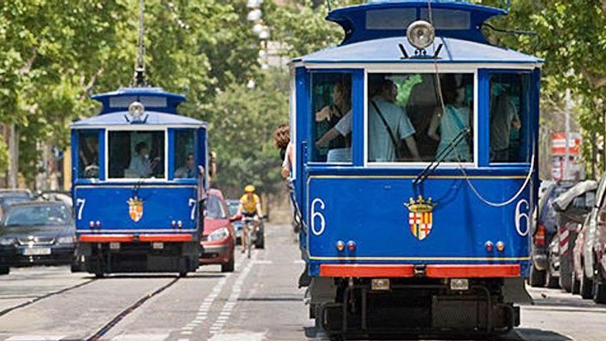 TMB posa a licitació el projecte de remodelació del tramvia blau