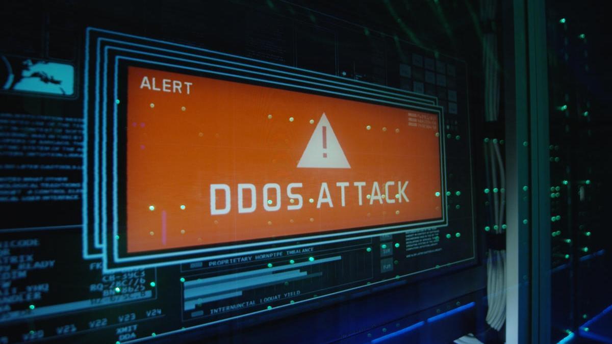 DDoS attack.