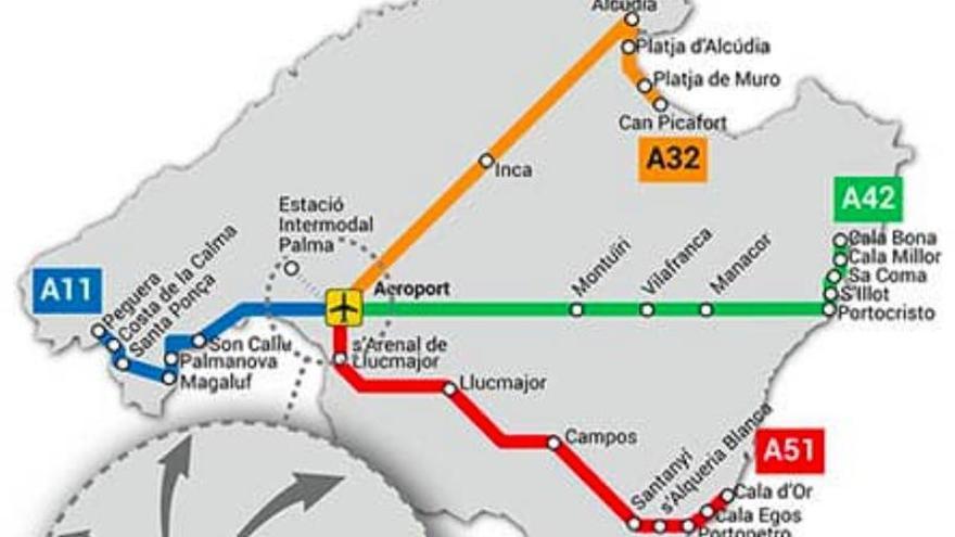 So kommen Sie per Bus vom Flughafen zum Hotel auf Mallorca