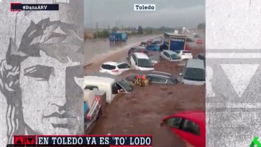 Al Rojo Vivo se burla de las inundaciones de Toledo