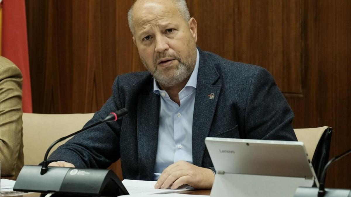 El consejero de Educación de la Junta de Andalucía, Javier Imbroda