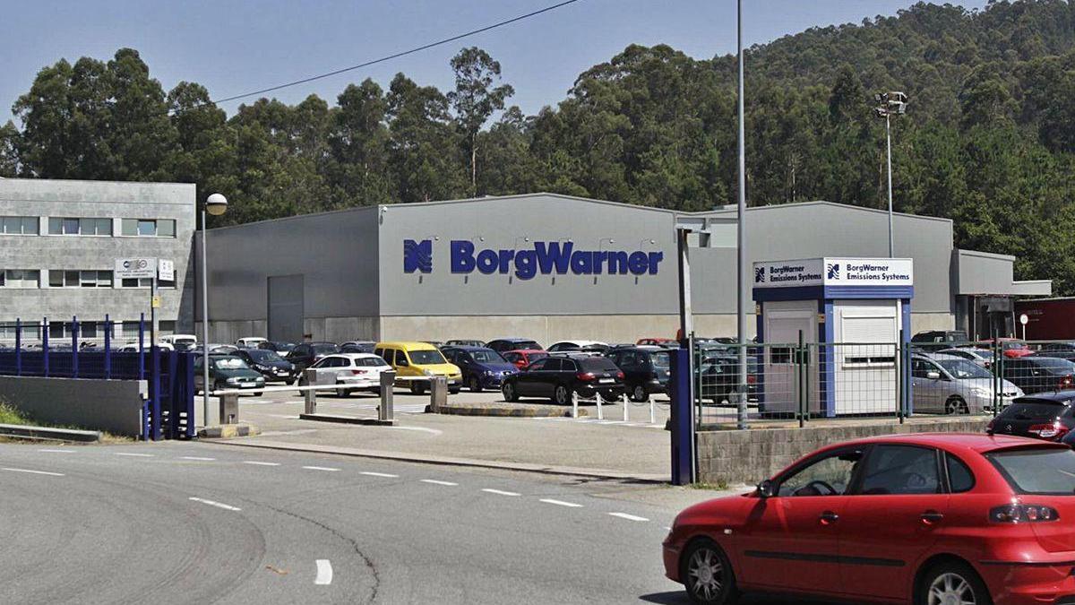 Factoría de la multinacional Borgwarner en Zamáns.