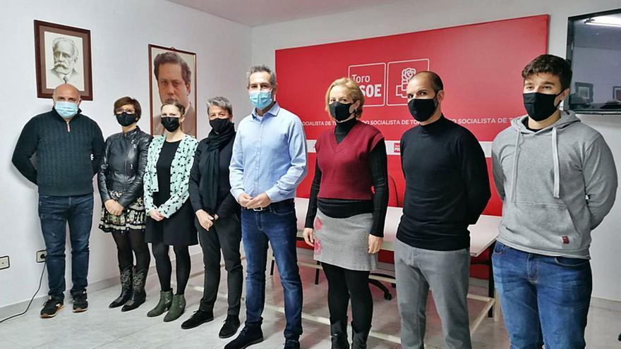 Carlos Rodríguez es el nuevo secretario general del PSOE de Toro