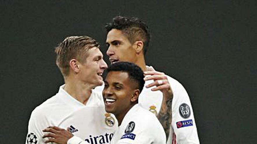 Inesperada noche plácida para el Madrid