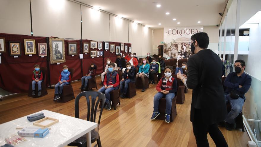 Los niños se convierten en protagonistas de un taller de cerámica visigoda