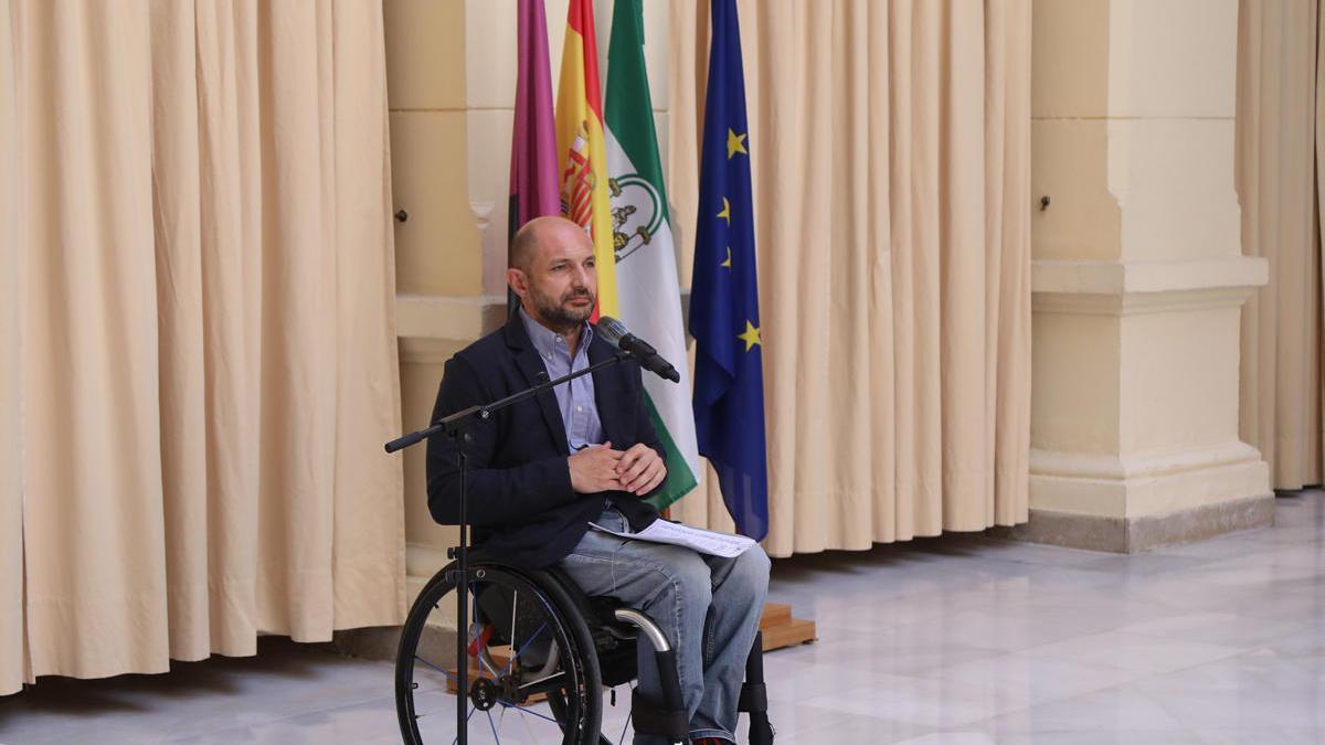 Raúl López, ayer en rueda de prensa