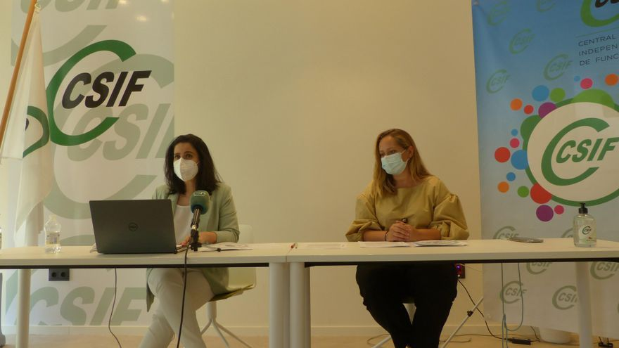 CSIF afirma que la pandemia ha causado estrés y angustia al 95% del profesorado
