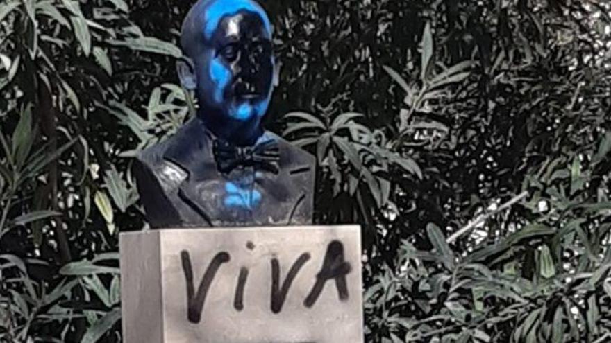 Rechtsextreme schänden Denkmäler in Palma de Mallorca
