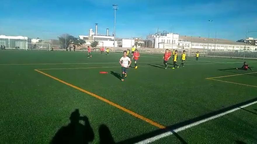 Emotivo homenaje a Julen en el fútbol base de Castellón