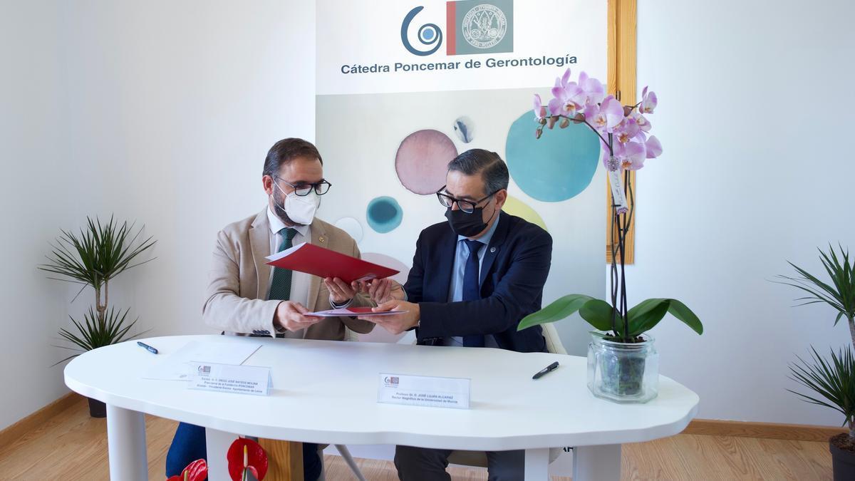 UMU y Fundación Poncemar renuevan su compromiso para el mantenimiento de la Cátedra Poncemar de Gerontología