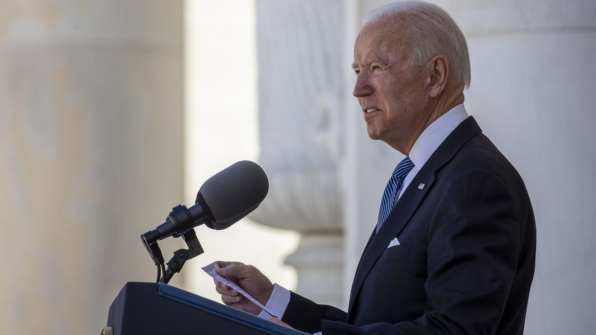 El presidente estadounidense Joe Biden.