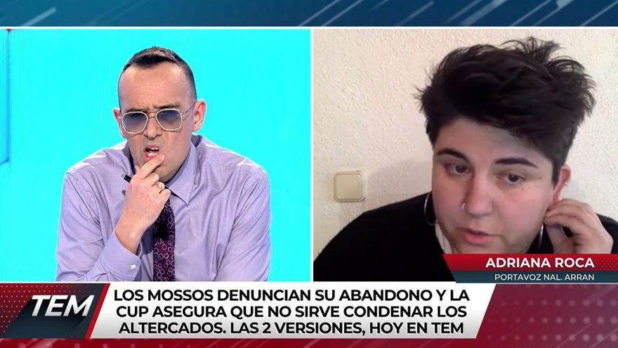 """Risto, sobre la chica que perdió un ojo en los disturbios de Barcelona: """"Si te metes ahí, una caricia no te vas a llevar"""""""