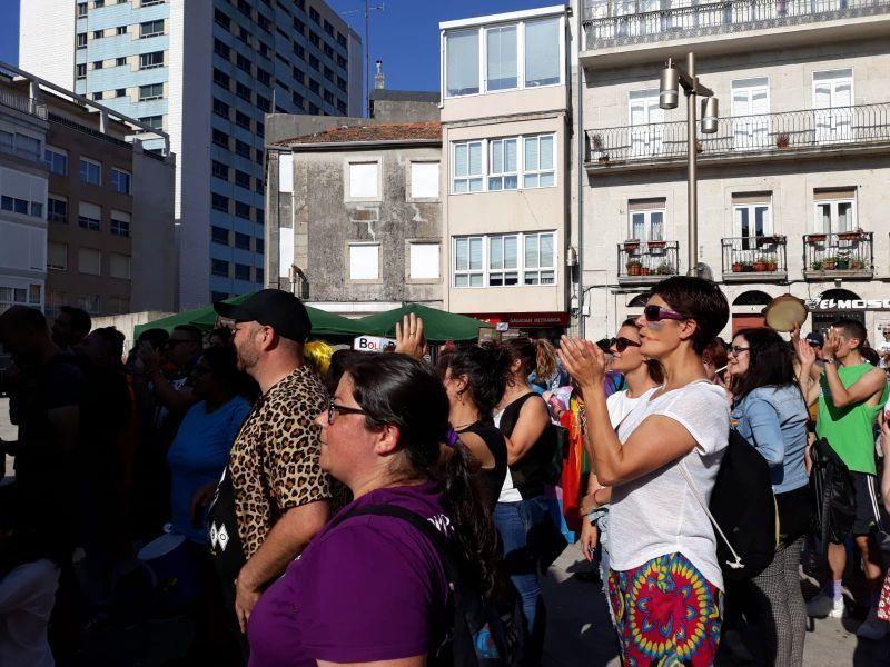 Vigo celebra la diversidad con ''orgullo''. // Alba Villar | FdV