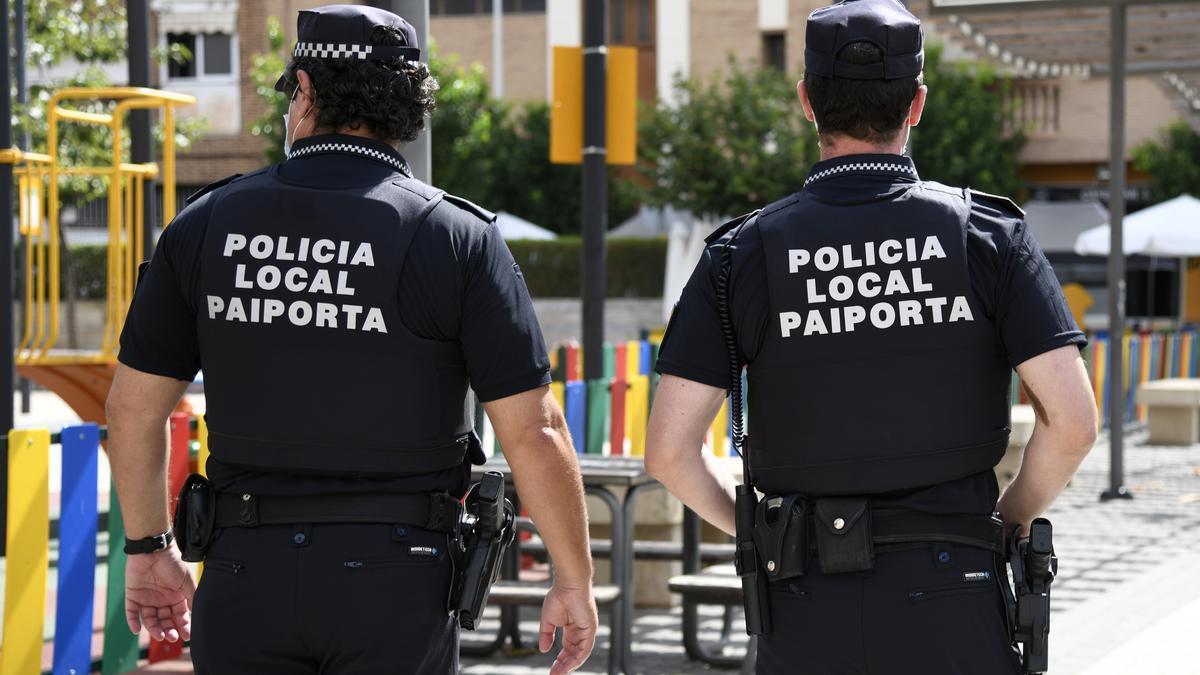 Agentes de la Policía Local de Paiporta