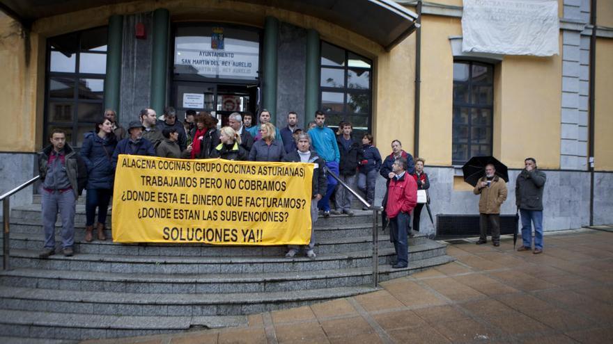 IU pide en la Junta explicaciones al Principado por el cierre de la empresa Alacena