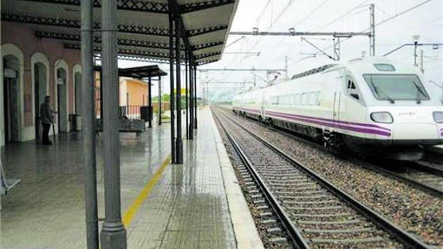 Vía libre para el ancho europeo del corredor mediterráneo en Castelló