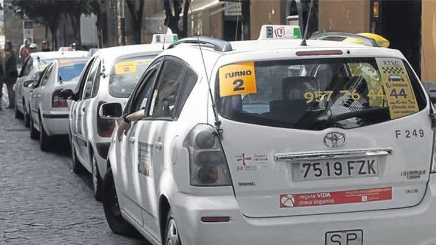 Los taxistas de Córdoba exigen la regulación de la VTC y la actuación de la Policía Local