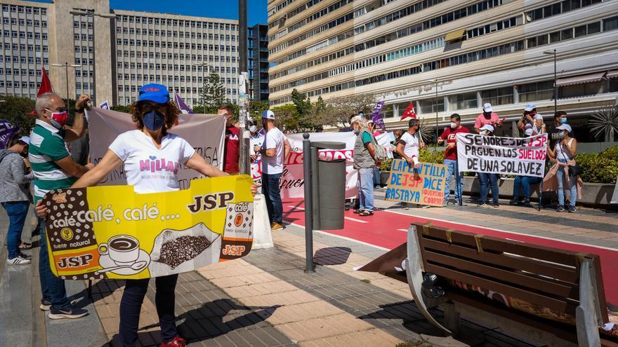 División sindical en JSP