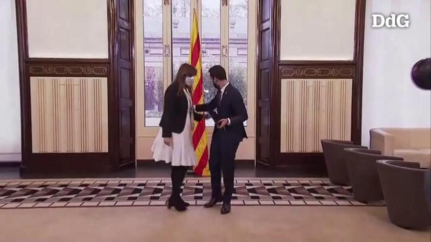 Borràs és escollida presidenta del Parlament en segona votació