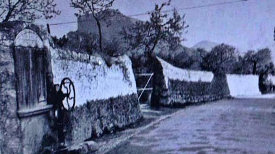 Alaró obliga a una promotora a reconstruir una antigua 'manxa' de agua